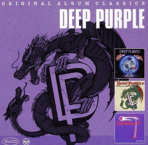 CD : Deep Purple - Original Album Classics (Germany - Import, 3 Disc)