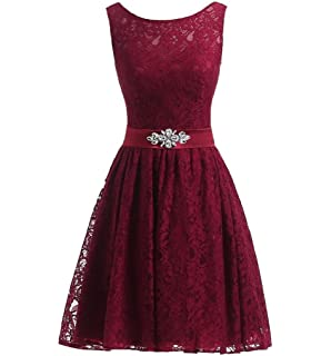 Lisianthus002 Womens Short Lace Cocktail Party Prom Dresses ...