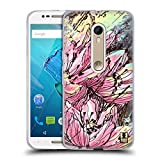 Head Case Designs Hanakotoba Floral Drips Soft Gel Case for Motorola Moto X Play