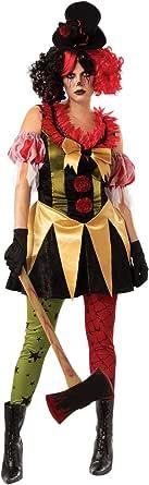 Rubie's Women's Evil Clown Lady
