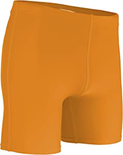 product image for HT-111Y Youth Mid-Weight Compression Short-Stay Comfortable, Cool, and Dry (Large, Gold)