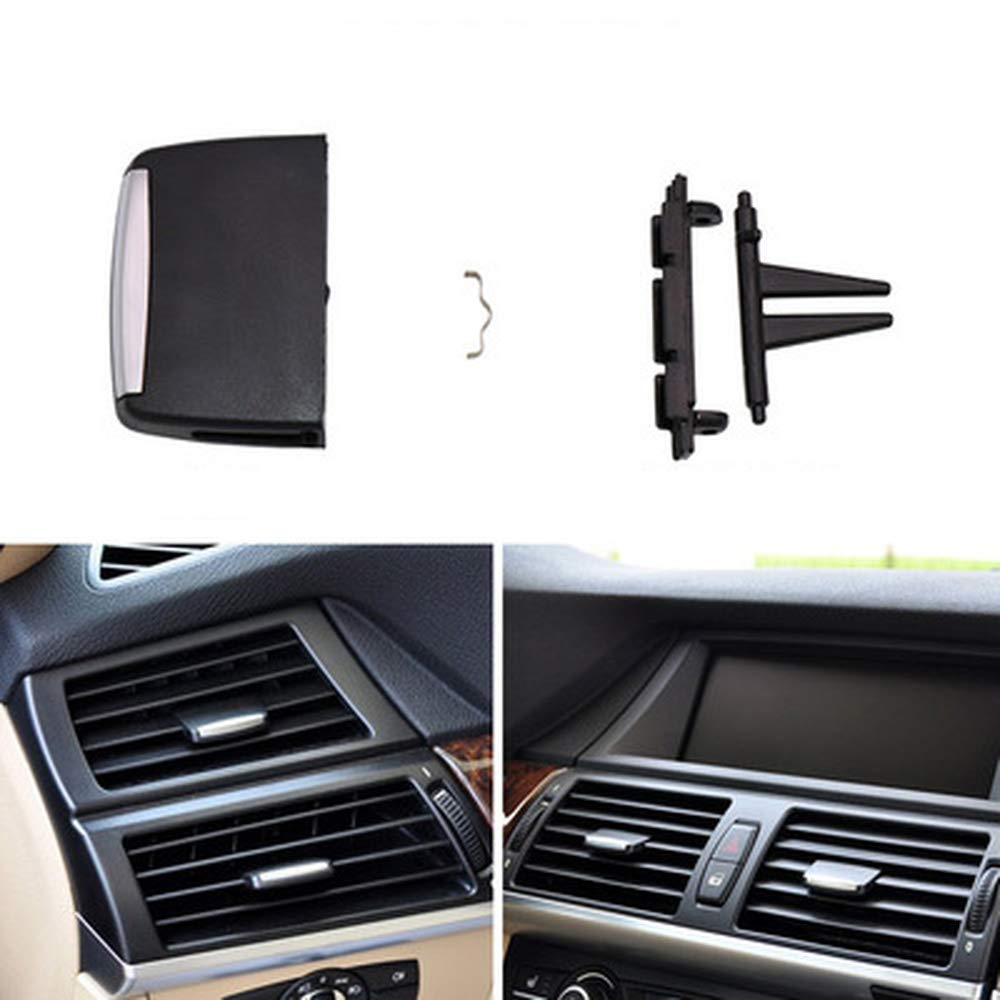 HERCHR Replacement for BMW X5 X6 Air Conditioning Air Outlet Picks E70 E71 Air Outlet Adjustment Switch