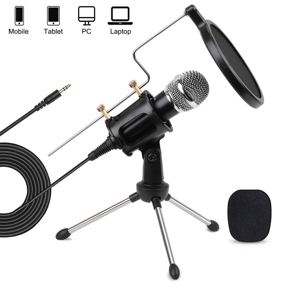 Microfono Usb Mobile Computer Condenser Studio