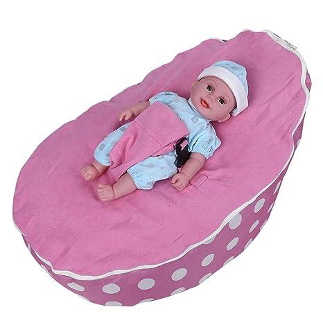 Amazon.com: Bebé Bean Bag Soporte Silla, Cozy adaptable ...