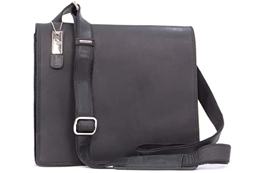 37fd5cd40 Visconti Cross-Body Messenger Bag - Hunter Leather - 16025 Harvard (M) -