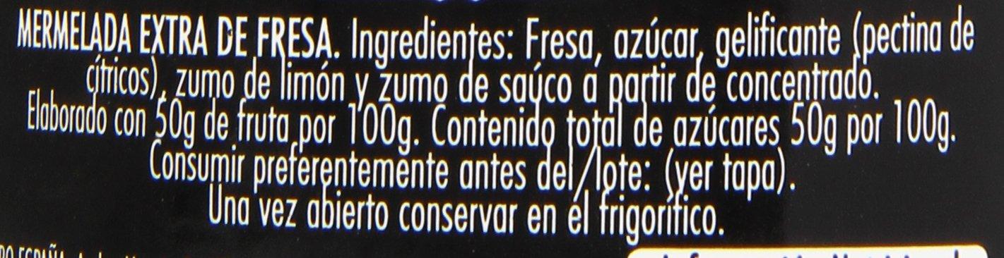 Mermelada extra fresa hero temporada 350 g