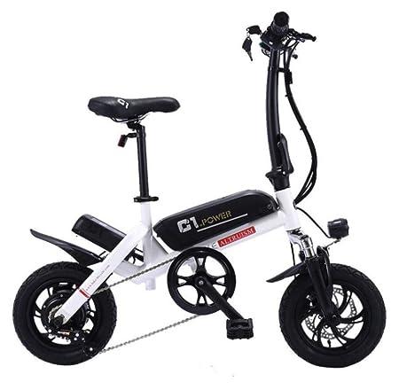 WXJWPZ Bicicleta Eléctrica Plegable 250w Bicicletas Eléctricas ...