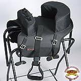HILASON Buddy Child Seat for Horse Saddle Riding Turquoise/Black/Brown/Purple