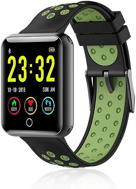 Amazon.com: LayOPO Ip68 Reloj inteligente resistente al agua ...