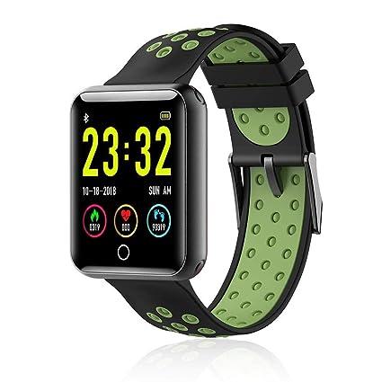 Amazon.com: LayOPO Ip68 Waterproof Smart Watch, Ultra Thin ...