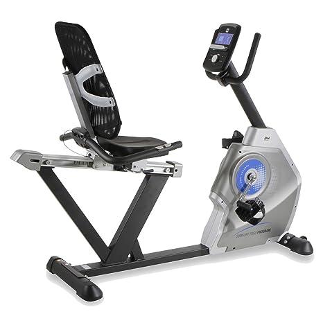 BH Fitness - Bicicleta Estã¡Tica Comfort Ergo Dual: Amazon.es ...