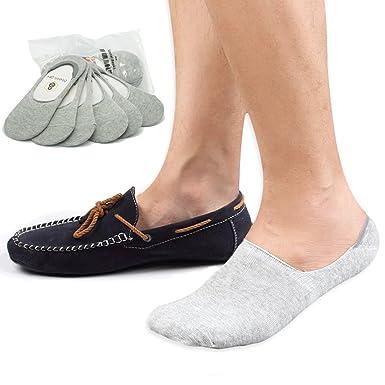 8BESS GIFT - Calcetines invisibles para hombre, corte bajo, antideslizantes (Pack de 6): Amazon.es: Ropa y accesorios