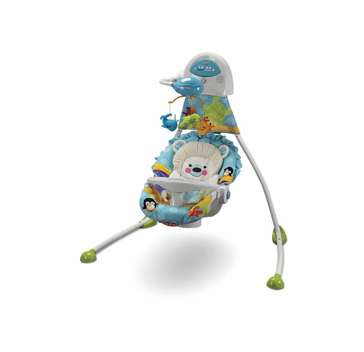 Fisher price precious planet high chair - Amazon Com Fisher Price Precious Planet Open Top Cradle Swing Discontinued By Manufacturer Stationary Baby Swings Baby