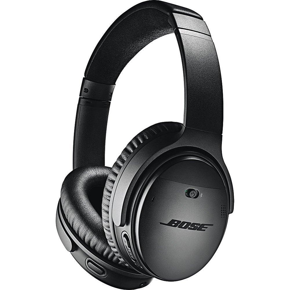 Bose QuietComfort 35 (Series II) Wireless Headphones, Noise Cancelling - Black (Renewed) by Bose