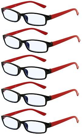 415d3c5f1c 4sold Gafas de Lectura Presbicia Vista Cansada - (Pack 5) Graduadas fde 0.5  a