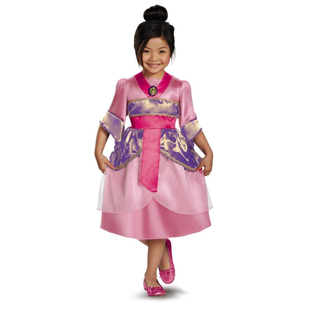 Amazon.com Disguise Disneyu0027s Mulan Sparkle Classic Girls Costume 4-6X Toys u0026 Games  sc 1 st  Amazon.com & Amazon.com: Disguise Disneyu0027s Mulan Sparkle Classic Girls Costume 4 ...
