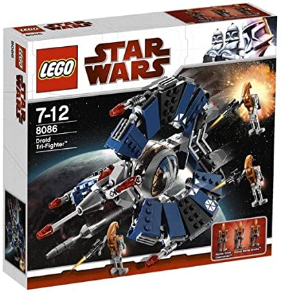 Amazon Lego Star Wars Droid Tri Fighter 8086 Toys Games