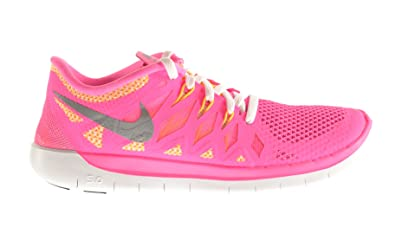 on sale 108bd 53c6c Amazon.com: Nike Free 5.0 (GS) Big Kids Shoes Pink Glow ...