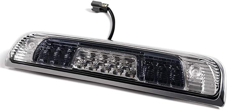 TTX LIGHTING Smoke Lens LED 3RD High Mount Brake Light with Cargo Light for Silverado Sierra Tinted 2014-2018 Pack of 1