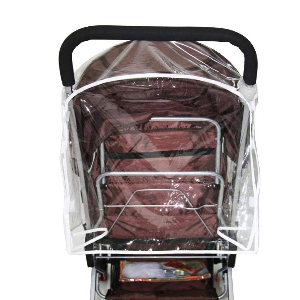 pour Poussette Double kioski Housse de Protection Contre la Pluie pour la Poussette b/éb/é c/ôte /à c/ôte