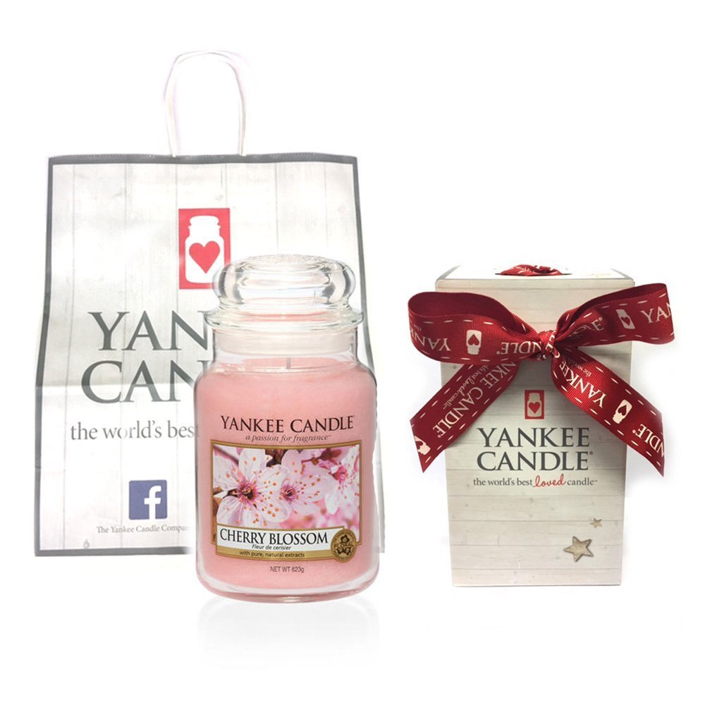 Yankee Candle Cherry Blossom Large Jar Free Yankee Gift Box