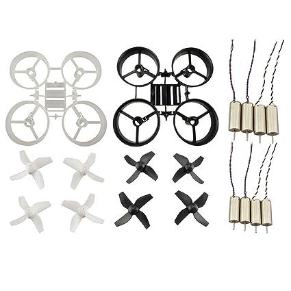 Sharplace 2 Set Hélice + Marco de Protección + Motor para JJRC H36 ...