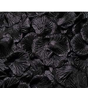 MELUOGE 1000Pcs Silk Sturdy Flower Rose Petals Wedding Party Pasty Tabel Decorations, Definately Lighter But Bright 7