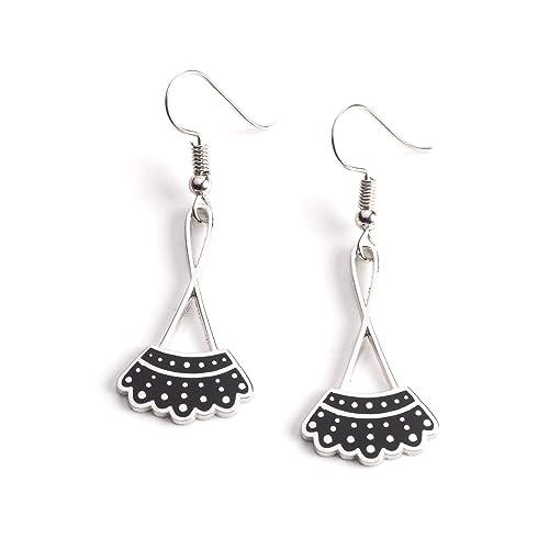 28ecccd06 Amazon.com: Dissent Collar Drop Earrings: Jewelry