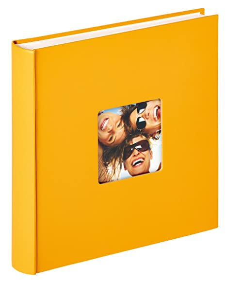 Walther Design Album Foto Da Incollare Fun Giallo 30 X 30 Cm