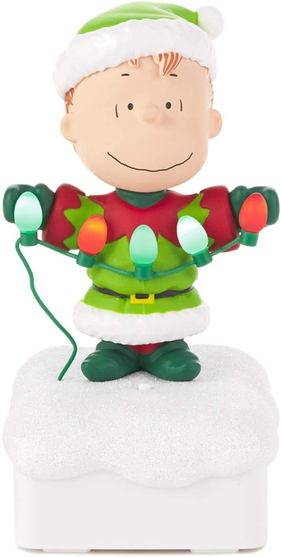 Hallmark Linus Peanuts Gang Christmas Light Show