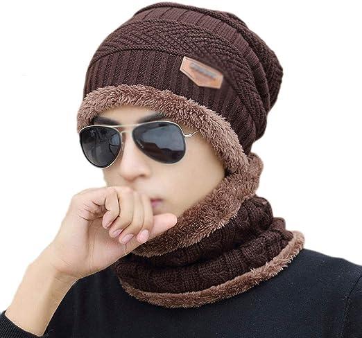 Sombrero de Invierno para Hombre Más Terciopelo Sombrero de ...