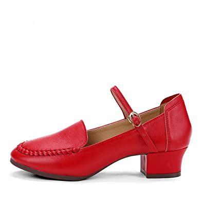 Tanzschuhe rote sohle