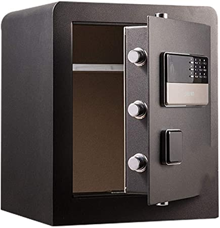 Cajas fuertes for el hogar, caja ignífuga segura for llaves combinadas, caja fuerte digital contra incendios
