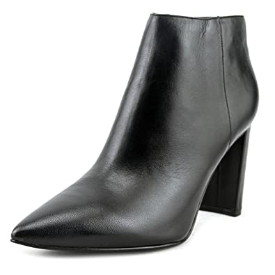 Womens Kalyn Leather Pointed Toe Ankle Fashion Boots