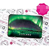 Iceland tourist souvenir Magnetic refrigerator Iceland aurora borealis