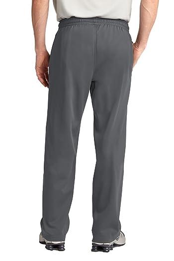 Sport Tek Sport Wick Fleece Sweatpants. ST237-Dark Smoke Grey-M