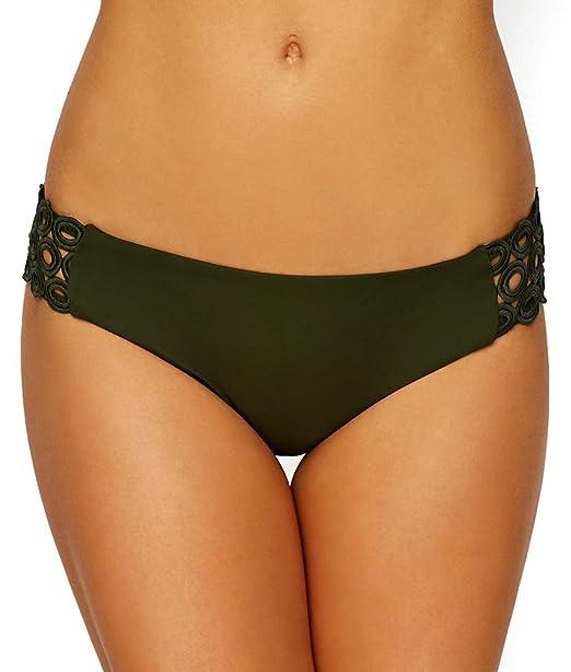 666447f5b24ae Amazon.com: BECCA Siren American Hipster Bikini Bottom, XL, Bayleaf: Becca  by Rebecca Virtue: Clothing