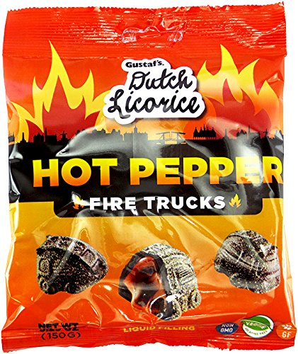 (GUSTAFS LICORICE HOT PEPPER FIRE TRUCKS 5.29 OZ)