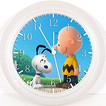 Amazoncom Snoopy Charlie Brown Wall Clock E288 Nice For Gift or