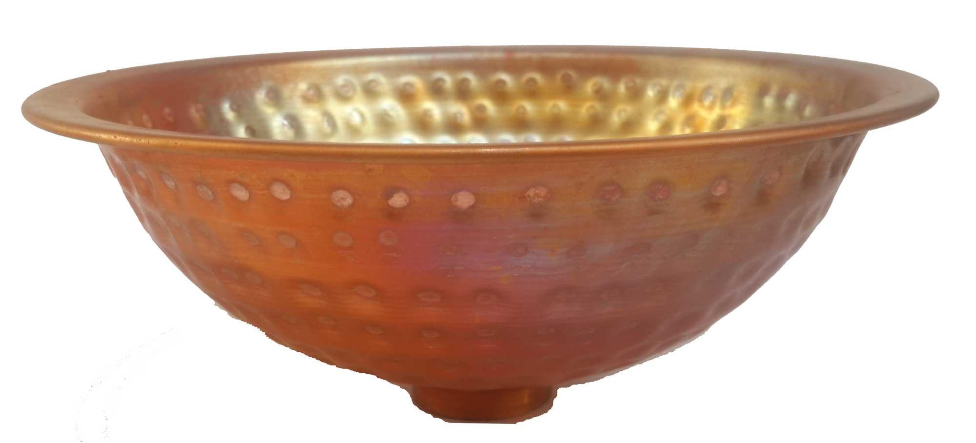 Egypt gift shops Tiny Small Compact Copper Single Bowl Basin Women Powder Room Toilet Bathroom Sink