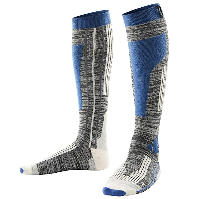 Liny Calcetines Compresión Running Tobilleros Mujer Hombre Futbol Medias Negro Esquí Deportivos Running Trekking Invierno Patinaje