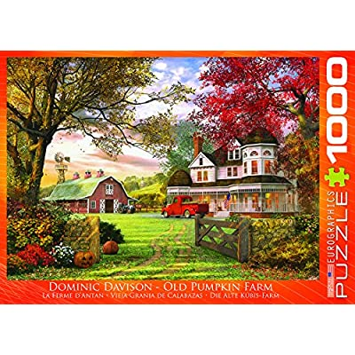 EuroGraphics Old Pumpkin Farm Jigsaw Puzzle (1000-Piece): Toys & Games