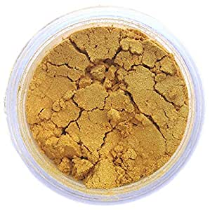 Super Gold Luster Dust, 4 gram container