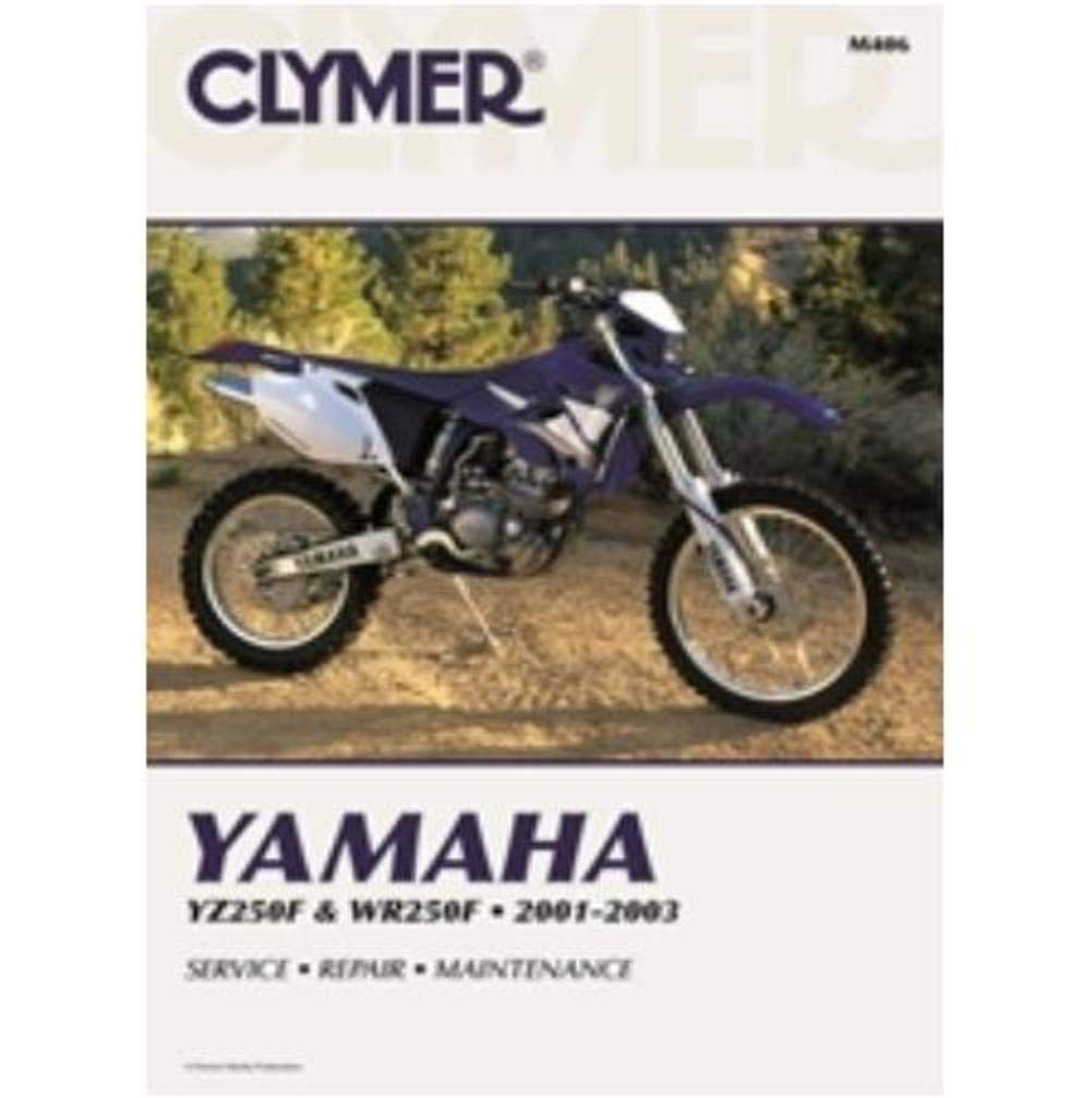 Amazon.com: Clymer Repair Manual for Yamaha YZ250F WR250F 01 ... on
