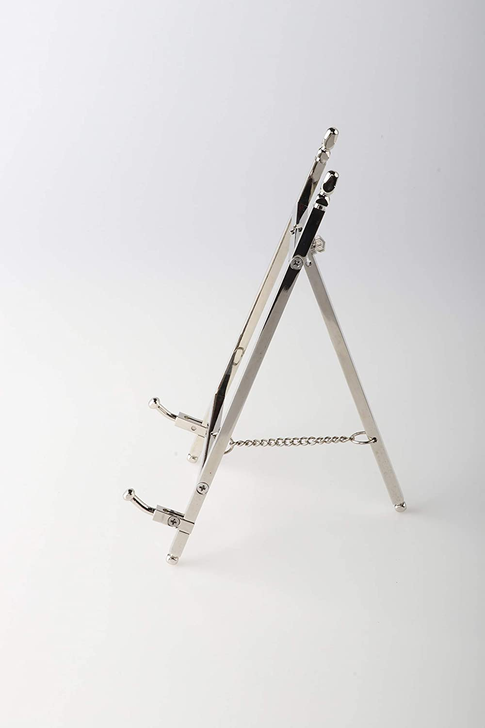 malleable Table Top Easel,Brass Plate Stands for Display,6 Inch,150MM