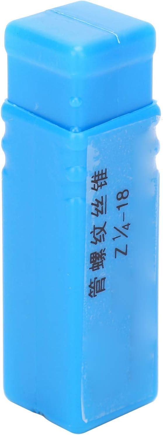 Fafeicy 1//4 pulgada Macho de rosca sistema americano acero aleado hierro fundido 18 dientes acero de alta velocidad para acero inoxidable