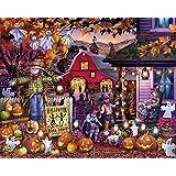 Halloween Barn Dance Jigsaw Puzzle 1000 Piece