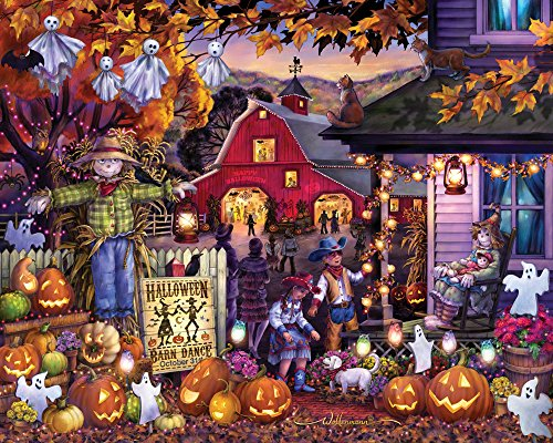 Halloween Barn Dance Jigsaw Puzzle 1000 Piece