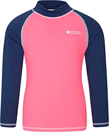 Mountain Warehouse Camiseta térmica para niños - Camiseta térmica con protección UV, Camiseta térmica de Manga Larga para niños, Costuras Planas: Amazon.es: Ropa y accesorios
