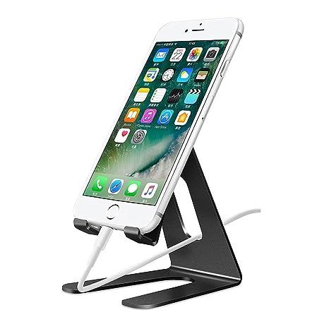 ELECTRÓNICA REY Soporte Mesa Aluminio para Movil Tablet Atril ...